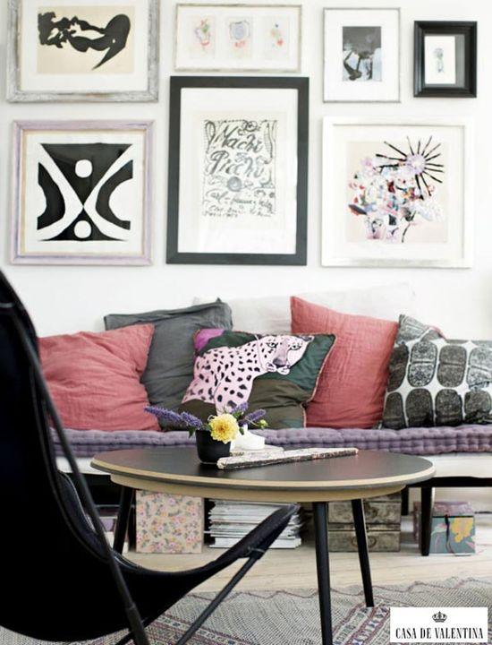 Via Casa de Valentina www.casadevalenti... #details #interior #design #decoracao #detalhes #color #cor #sala #living #casadevalentina