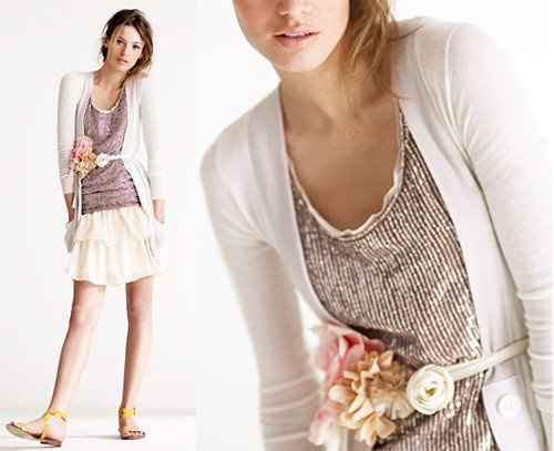 outfit + BLUMEN-gürtel!!