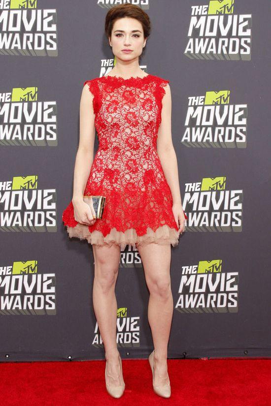 Crystal Reed at the 2013 MTV Movie Awards