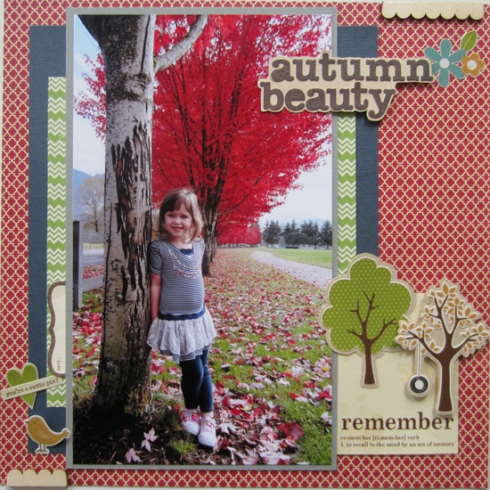 Autumn Beauty - Scrapbook.com