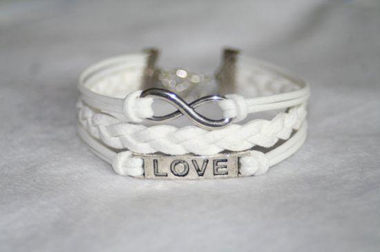 bracelet love bracelet infinity bracelet karma by totorovogue