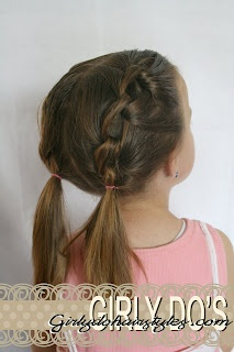 little girl how to hairstyles