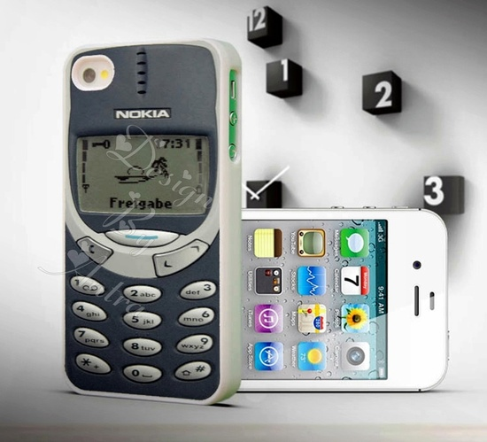 must have- Nokia 3310 Print For iPhone Case iPhone 4 case  iPhone 4s case. $8.88, via Etsy.