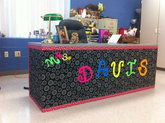 I love the idea of decorating your desk! I'll definitely will be doing something like this one day!!