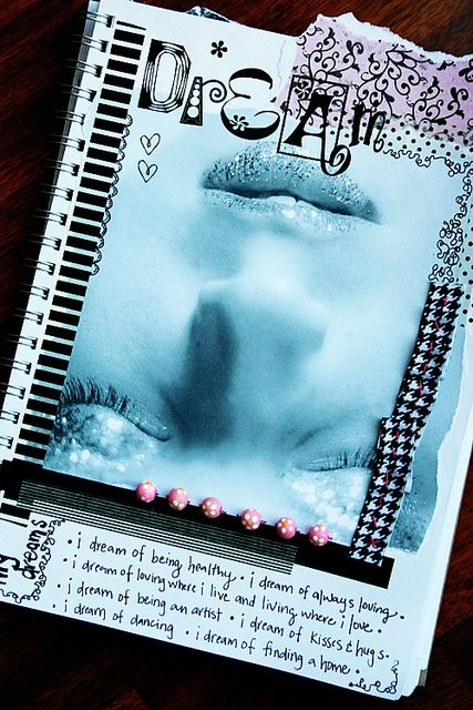 Art Journal #scrapbook #journal #notes #layout