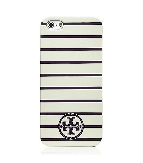 striped iphone 5 case / tory burch