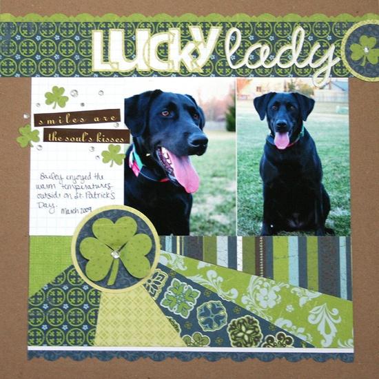 Lucky Lady - Scrapbook.com