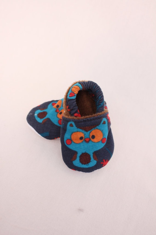 baby boy owl shoes