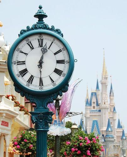 Main Street, Magic Kingdom, Disneyworld.