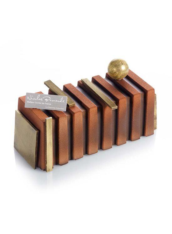 bûche chocolat-passion - Nicolas Bernardé