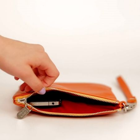 An iPhone-charging purse that's seriously cute.