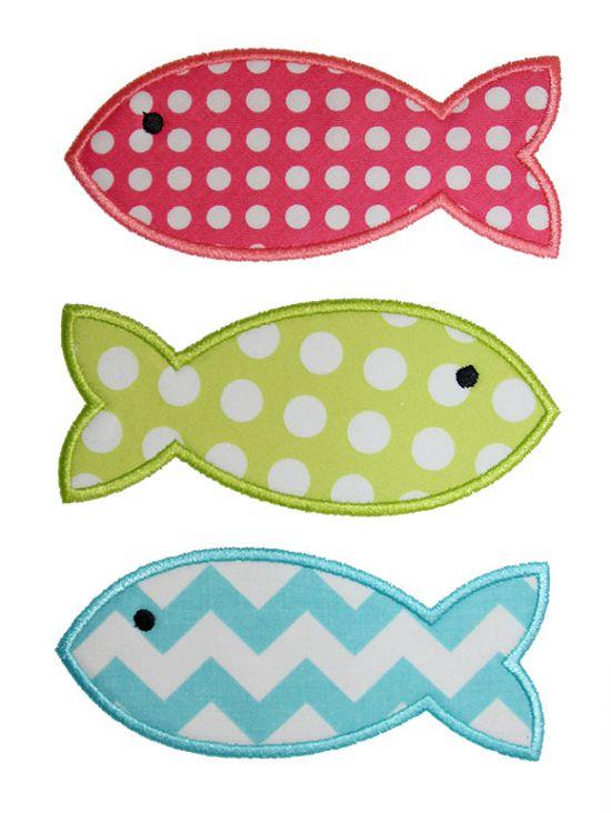 Fishes Applique Desi