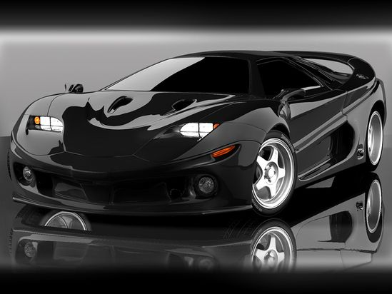 Fast Cars Car Model Design Expensive Sport Black Color   Wallpaper