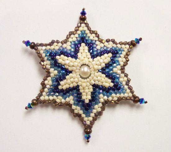 Snowflake Heirloom Brooch