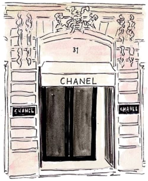 CHANEL in paris!