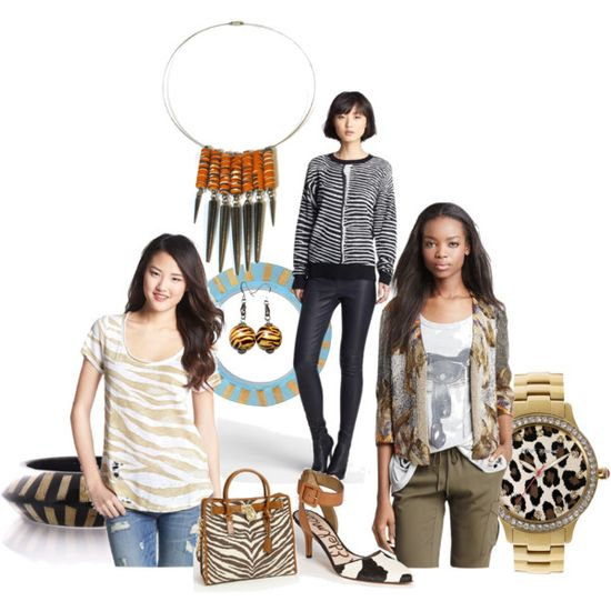 """""""Animal Print Fashion for Summer/Fall 2013"""" by blukatdesign on Polyvore"""