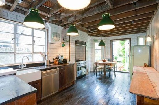 #INDUSTRIAL #STYLE #KITCHEN #interior #design FROM WWW.SHOOTFACTORY.... #47parkavenue
