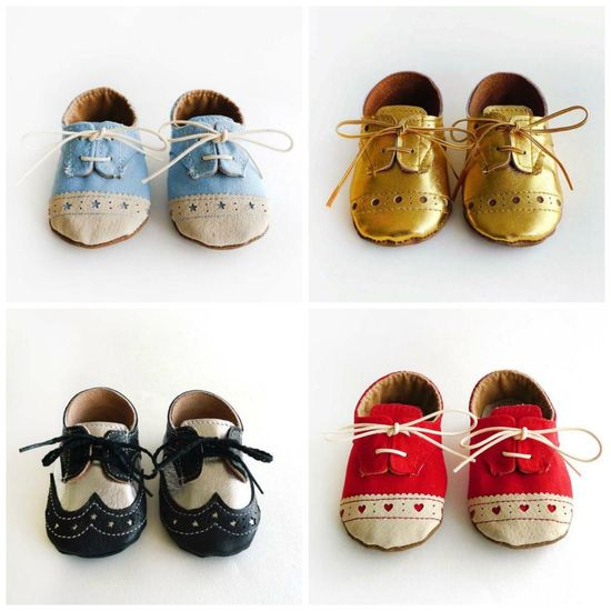 Ridiculously adorable handcrafted baby shoes!