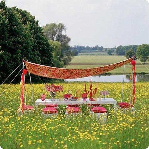 a boho picnic!