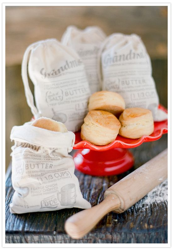 Love the idea of these for a party favor or Christmas gift - sharing a family recipe!