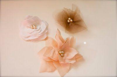 {fabric} flowers