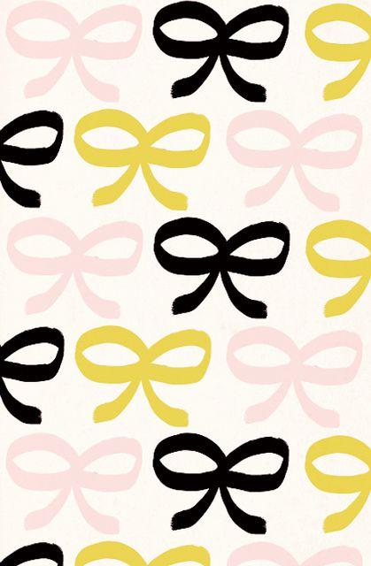 bow print
