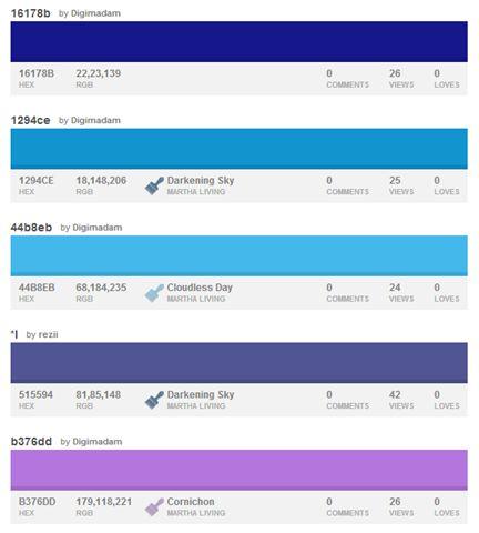 10 Cool Color Palettes for Industrial Design