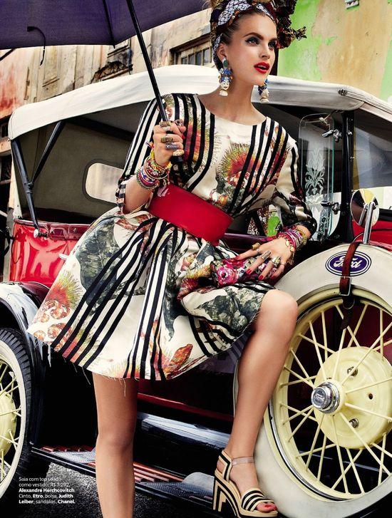 Carmen Miranda Reloaded Vogue Brazil February 2013 By Giampaolo Sgura Glamour
