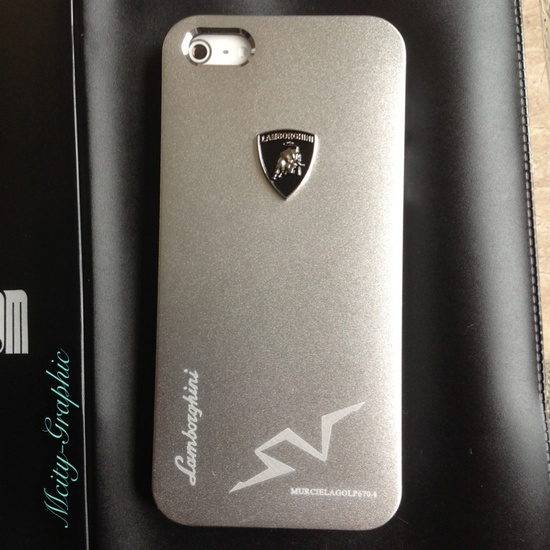 USA Lamborghini iPhone 5 Case Lamborghini Emblem Sport