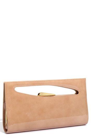 Stuart Weitzman 'Grip' Handbag.  Love a clutch with a handle!