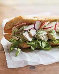 Leftover Blue Cheese Chicken Salad Sandwich Recipe on Food & Wine