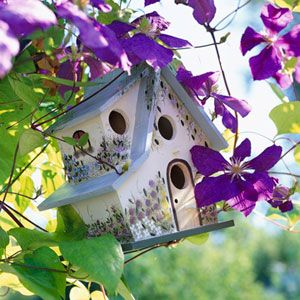 Flower Bird houses