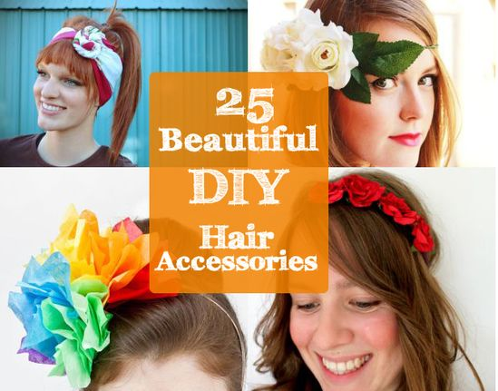 Craft Time: DIY Hair Accessories - Sortrature