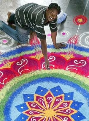 How To Draw A Kolam