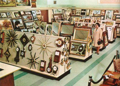 Home Decor Dept .1963, the downtown Denver, Colorado Woolworth's