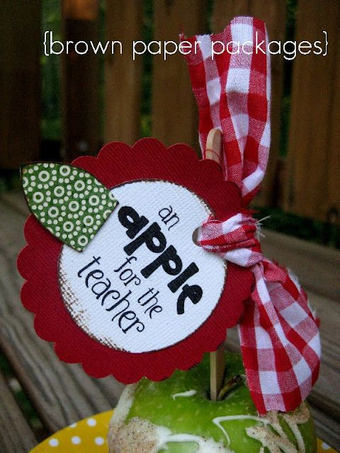 an apple for the teacher & other great teacher gifts