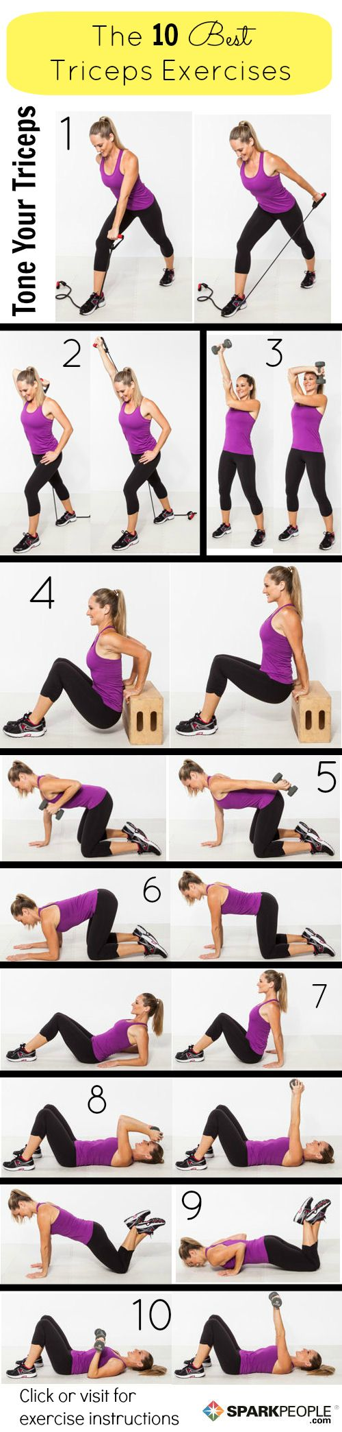 10 Exercises For The Triceps