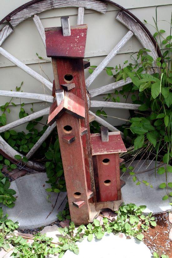 Barn Wood Bird house