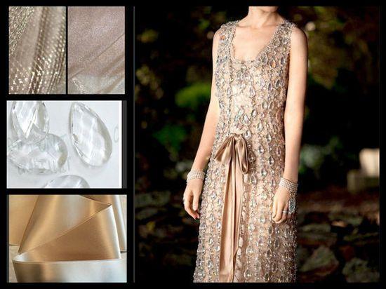 Vintage Style Tango Chandelier Dress