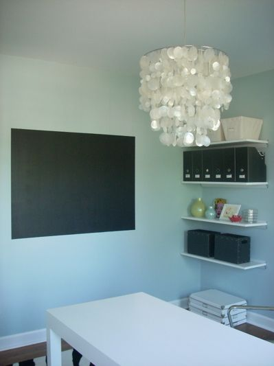 a magnet/chalk station in the playroom?  could be fun!