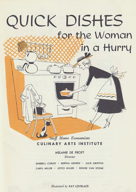Who amongst us can't use plenty of these?! #vintage #food #cookbook #1950s