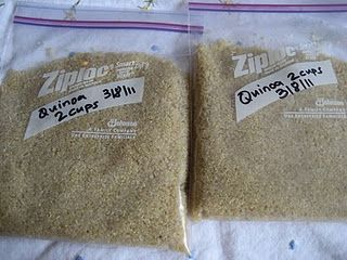 How to freeze cooked quinoa