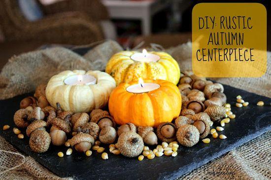 Do It Yourself: Rustic Autumn Centerpiece
