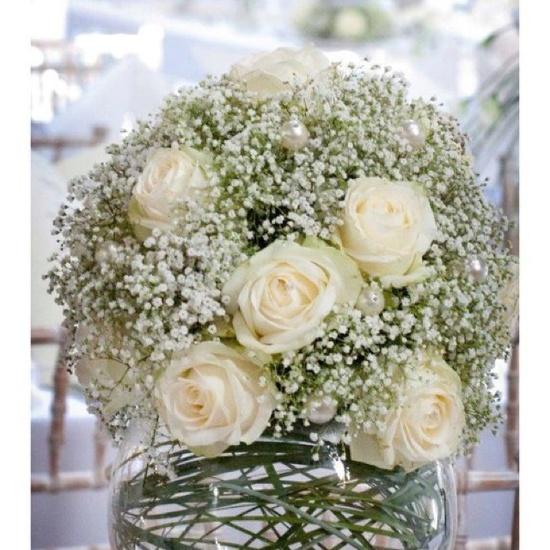 Wedding flower arrangement @Belinda Chang Woolard