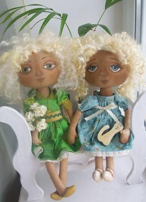Handmade dolls from Ukraine