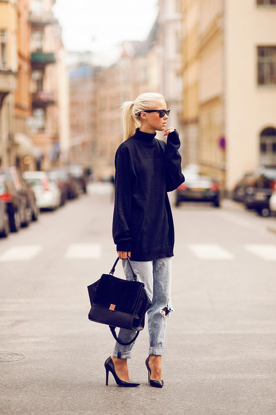 oversized at KG Street Style