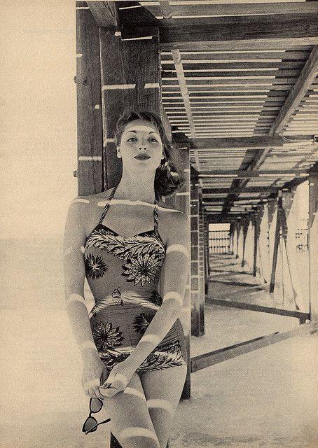 Vintage swimsuit, 1950s