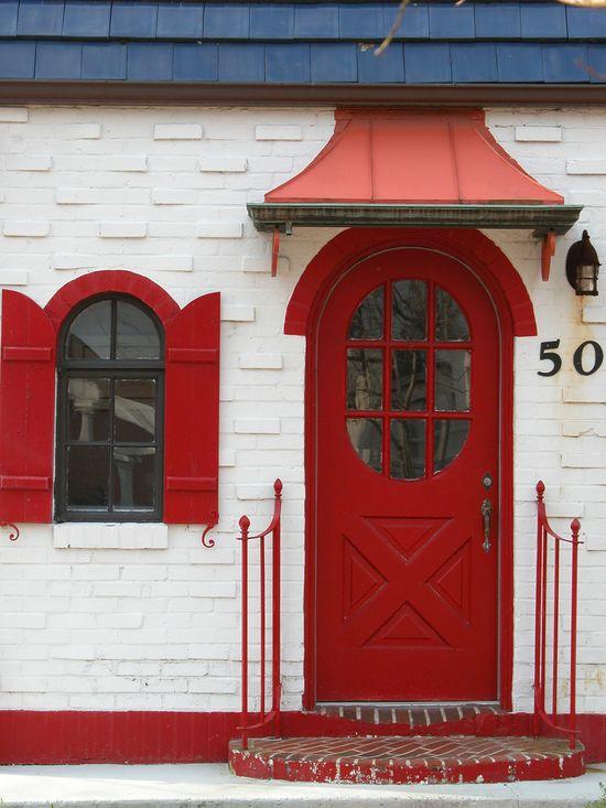 love red doors