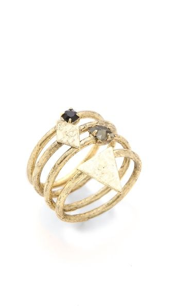 Jene DeSpain Deco Native Rings