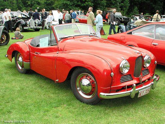 Jowett Jupiter Mk I Roadster 1952. Another typical British Sports Car - fabulous.
